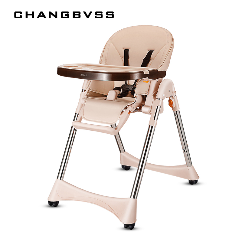 Luxury Multifunction Feeding Chair For Infant Kids Quality Wheels Baby High Chair Portable Four Colors Highchair Easy Cleaning infant feeding and morbidity