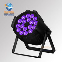 Rasha Hex 18*18W 6in1 RGBAW UV LED Par Light,Aluminum LED Par Can With DMX IN&OUT,Power IN&OUT For Stage Event Project