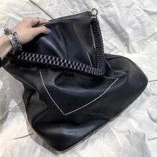 купить Casual Pu Woven Strap Women Handbags Designer Large Capacity Female Shoulder Bags Luxury Pu Leather Ladies Hand Bags Big Totes по цене 969.8 рублей