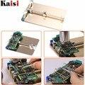 Kaisi Metal PCB Board Holder Jig Fixture placa base estación de trabajo para iPhone/teléfono móvil/PDA/MP3