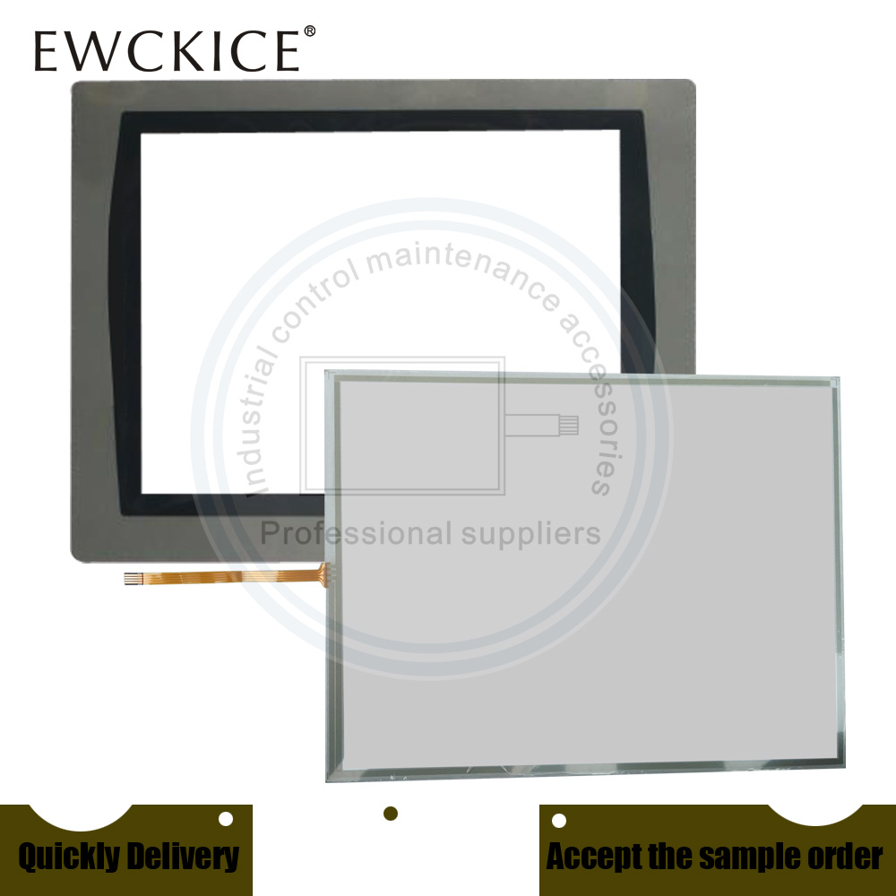 NEW PanelView Plus 2711P-T10C21D8S HMI PLC Touch Screen AND Front Label Touch Panel AND Frontlabel