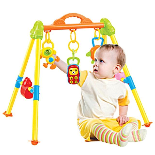 Multifunctional Music Intelligence Game Mats Baby Activity Play Mat Baby Gym Educational Fitness Frame Toys Juguetes Para Ninos