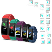 Thông Minh MỚI Vòng Tay Đồng Hồ Thông Minh Smartwatch Nhịp Tim Áp Tập Thể Hình Đo Sức Đi Bộ Dây Đeo Tay Cho Android Xiaomi Huawei IOS Điện Thoại