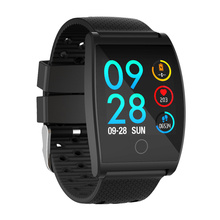 QS05 Smart Wristband Watch Blood Pressure Oxygen Band Customize Dial Heart Rate Monitor Fitness Bracelets