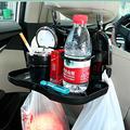 Venta caliente bandeja del alimento Del Coche mesa de comedor plegable sostenedor de la bebida del coche pallet asiento trasero portavasos agua coche