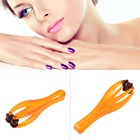 1pc Hand Finger Massager Dual Roller Joint Relaxing Beauty Nail Plastic Tool Hot Selling