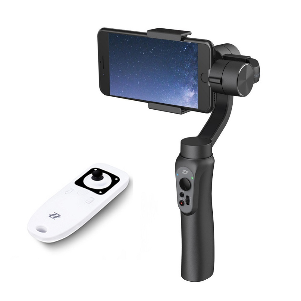 In Stock Zhiyun Smooth Q Handheld 3-Axis Gimbal Stabilizer with Remote Control for Smartphone Iphone 7 Plus 6 Plus Samsung S7