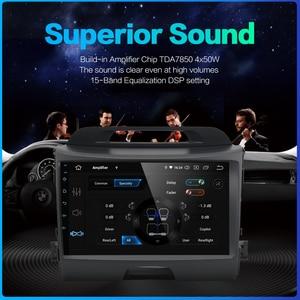 "Image 5 - Dasaita 9 ""IPS רכב אנדרואיד 10.0 רדיו לקאיה Sportage R 2013 2014 2015 2016 Bluetooth GPS Navigator רכב אודיו"