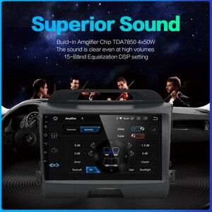 "Image 5 - Dasaita 9 ""IPS araba Android 10.0 radyo için Kia Sportage R 2013 2014 2015 2016 Bluetooth GPS Navigator araba ses"