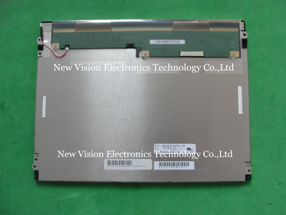 "NLB121SV01L 01 TM121SDS01 Original A+ quality 12.1"" inch LCD Display for Industrial Equipment-in LCD Modules from Electronic Components & Supplies"