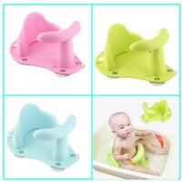 Yenidoğan Bebek Duş Yüzme Havuzu Bebek Çocuk Bebek Banyo Koltuk halka Sigara Kayma Önleyici Emniyet Sandalye Mat Pad bebek banyo küvet