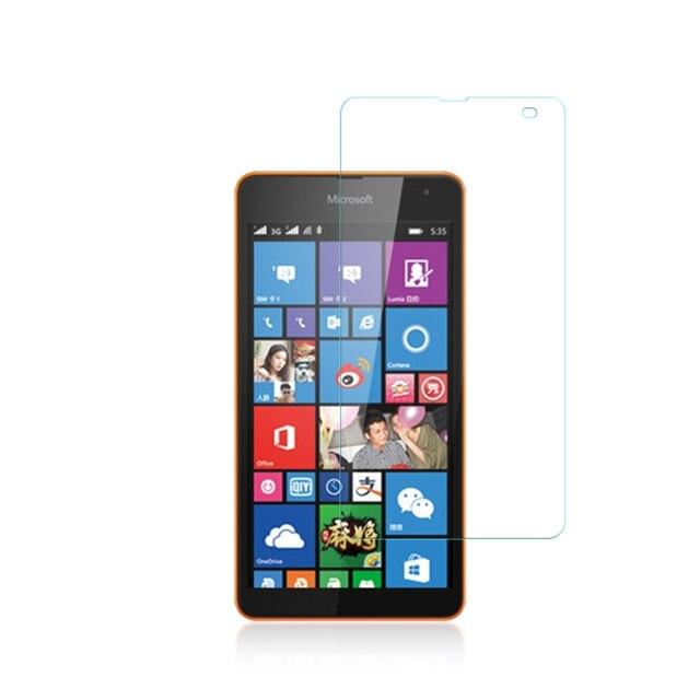 0.33 мм Экран защиты закаленное Стекло Плёнки для Nokia Microsoft Lumia 535 Экран Защитная крышка для Nokia 640 650 430 1520 435