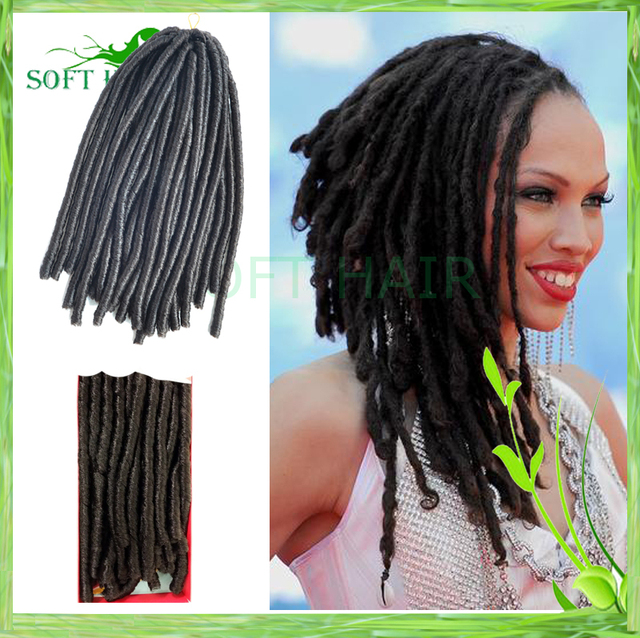 Dread Extensions Free Shipping 3pcs Lot Soft Hair Products 124