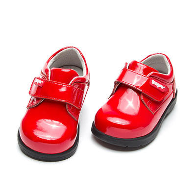 Free Shipping 1 pair Children Genuine Leather Girl Orthopedic shoes, Kids/childs Shoes