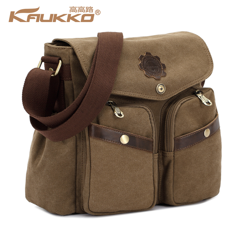 New Style Canvas Travel Messenger Bag For Men 39 S Women 39 S Casual Vintage School Shoulder Bags