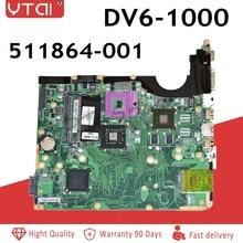 DV6-1000 motherboard 511864-001 For HP laptop mainboard DV6