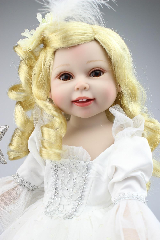 Online-Shop BJD/SD Stil Babydoll Weiß Brautkleid Prinzessin Puppe ...