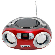 2017 Portable CD Boombox bluetooth Speaker with Bluetooth FM Radio USB MP3 player CD player