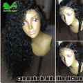 8A Full Lace Human Hair Wigs For Black Women Brazilian Loose Curly Full Lace Wig Virgin Hair Glueless Lace Front Human Hair Wig