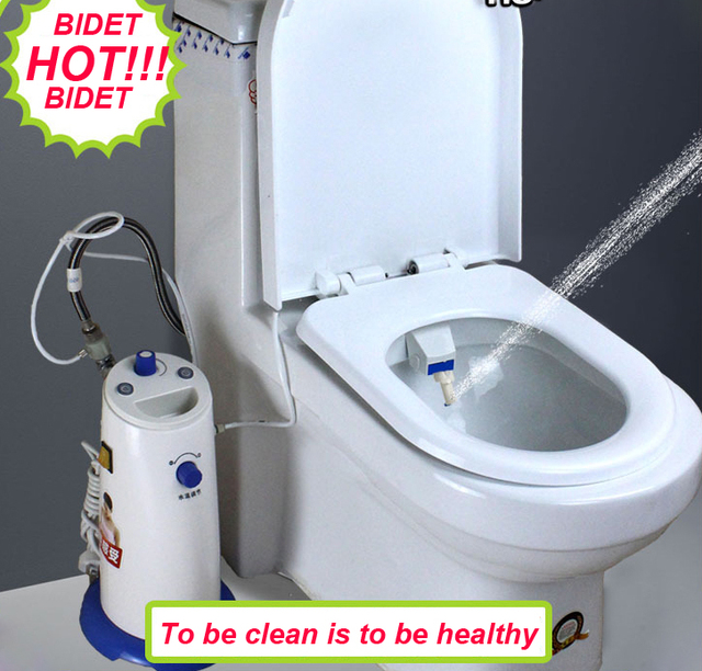 Best portable baday electronic bathroom heated warm - Japanese toilet bidet combination ...