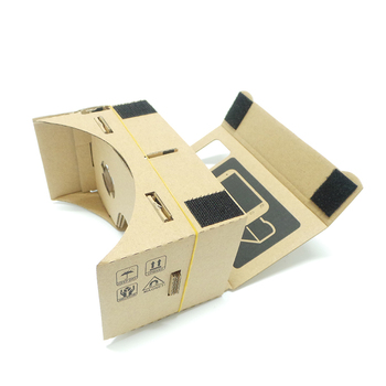 Google Cardboard 3D VR Glasses Virtual Reality VR V1 VR Goggles Rift for iPhone 6 Plus 4.7 5.5 6 inch Android iOS Smartphone