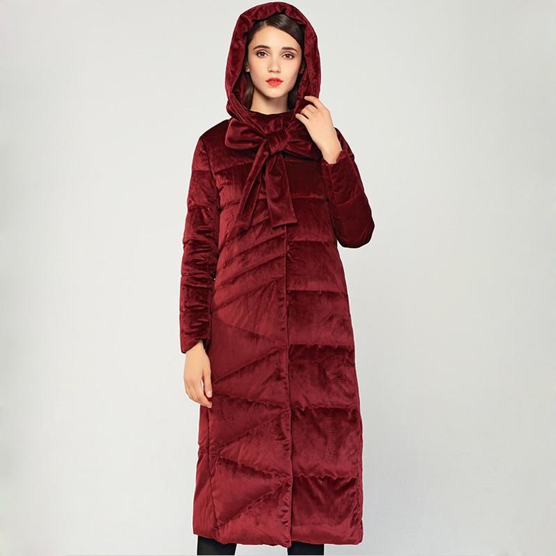 Wrion High Quality 2018 Winter   Coat   Women Original Design Thickened Hood   Down   Jacket Women Fashion   Down     Coat   Ladies Long Outwear