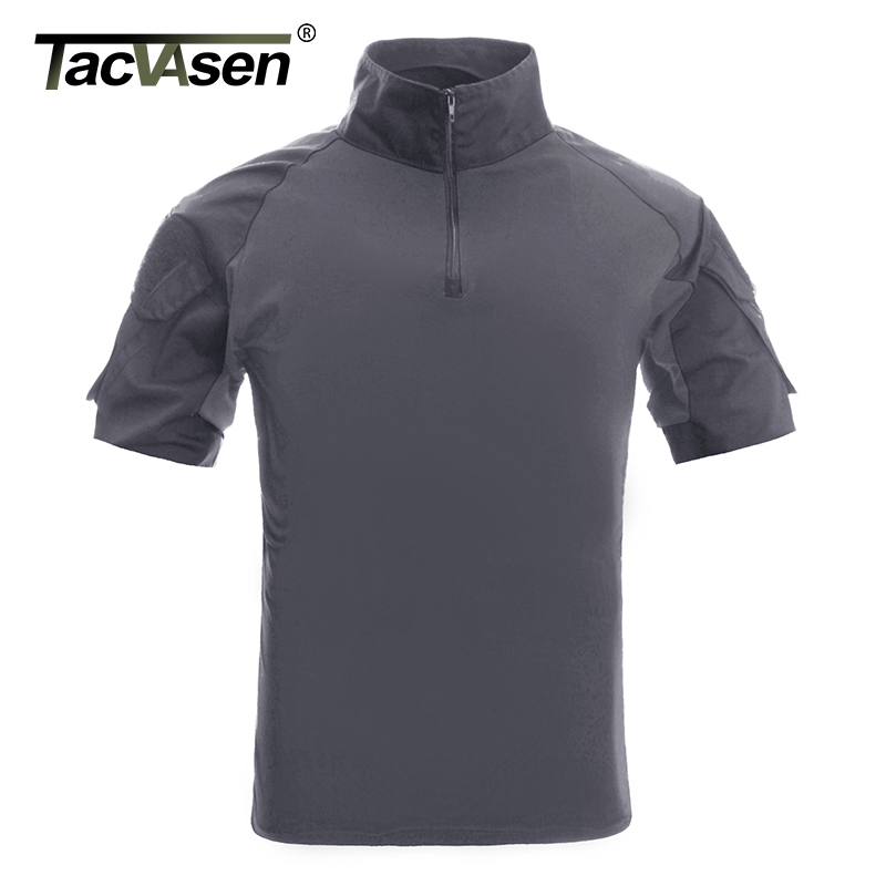 Image 3 - TACVASEN Men Camouflage Tactical T Shirts Summer Short Sleeve Airsoft Army Combat T shirts Hunt Shoot Top Tees Military Clothingcamouflage t shirttactical t shirtbrand t shirt men -