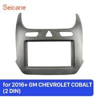 Seicane 2Din Car Radio Installation Dashboard Audio Fascia Frame Refitting Panel For GM CHEVROLET COBALT 2016 2017 2018