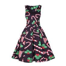 fd2ed06e3a7e42 (Schiff aus US) Feitong Plus Größe Mode Frauen Kleid Vintage Santa  Weibliche Weihnachten 1950 s Retro Xmas Party Frauen A-linie Kleider  Vestidos