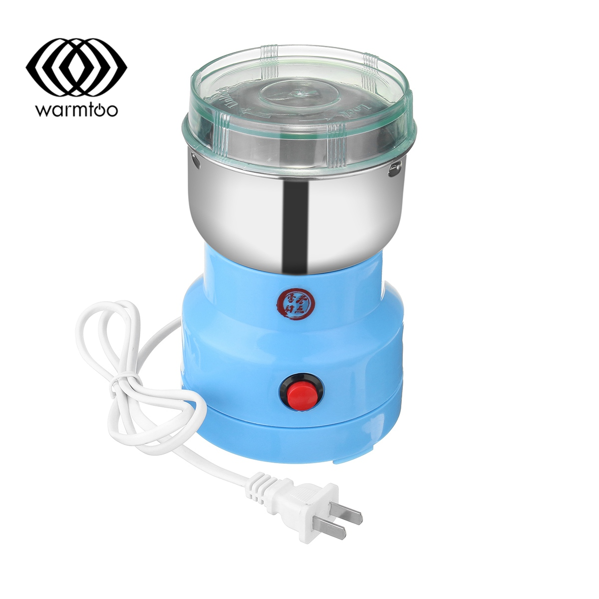 warmtoo Electric Herbs Spices Nuts Grains Coffee Bean Grinder Mill Grinding DIY Tool Home Medicine Flour Powder Crusher