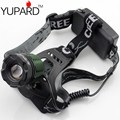 YUPARD FREE SHIPPING Zoom Headlamp LED Torch light CREE XM-L2 T6 LED  2*18650 rechargeable Head lamp Zoomable camping fishing