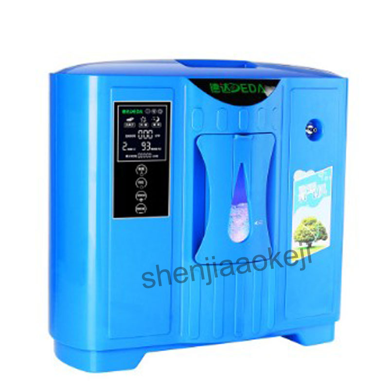 2L-9L gospodarstwa domowego koncentrator tlenu generator przenośny tlen maszyna do robienia pochłaniacz tlenu generatora tlenu DDT-2F maszyna tlenowa