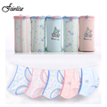 Fainlise 5Pcs/lot Sexy Women's Panties Cotton Cute Pink Rabbit Girls Briefs Women Underwear Comfortable Intimates Lingerie