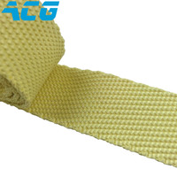 aramid fiber tape Heat Insulation High strength 1 13cm width Overlock para aramid belt kevlar