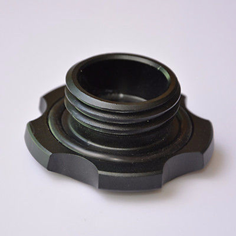 NEW Blcak Aluminium Engine Oil Filler Caps Cover Plug for Subaru WRX - Bahagian auto - Foto 5