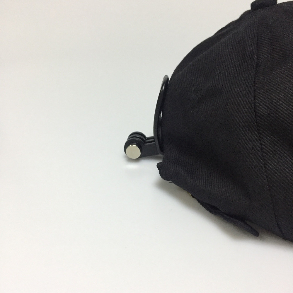 Image 5 - Kaliou Quick Clip Go pro Accessories Baseball Cap Mount for Go pro 7 6 5 4 3+ 3 2 1 Backpack Single Double Shoulder Strap Chest-in Sports Camcorder Cases from Consumer Electronics