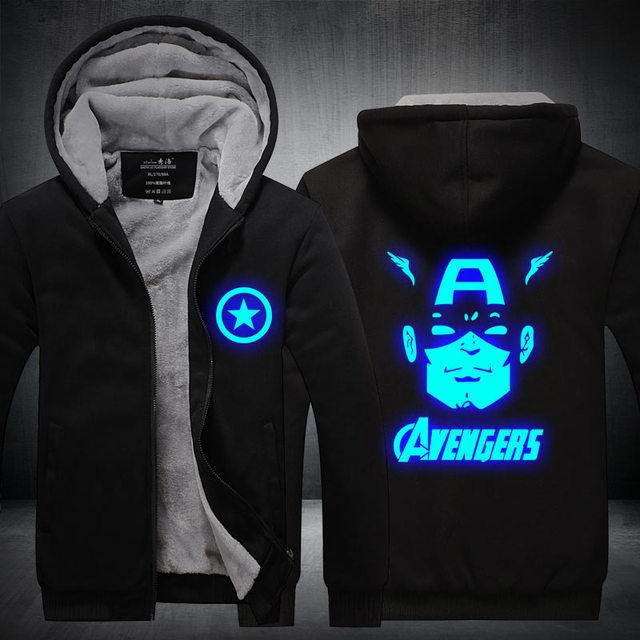 Captain America & Avengers Hoodie