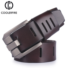 cowhide genuine leather belts for men brand male pin buckle jeans cowboy Mens Belt Luxury Designer High Quality Leather belt men 2018 new large size genuine leather men belts fashion long male designers high quality 140cm 150cm 160cm jeans pin buckle belt
