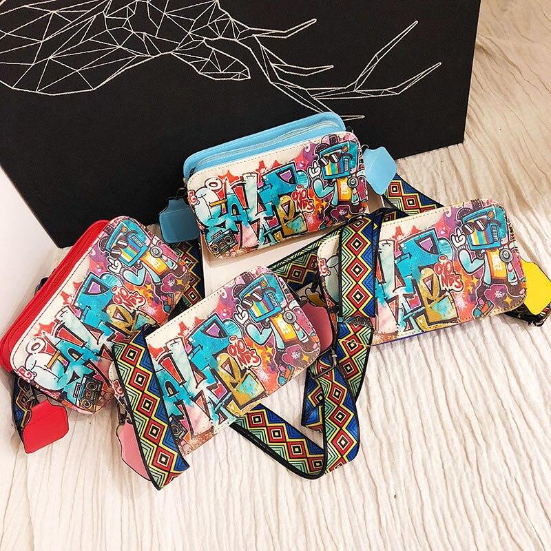 Bag female 2018 new honey Didi Hong Kong style wild loose ...