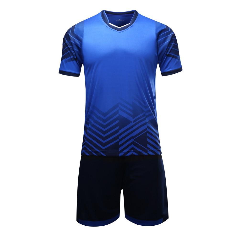 f39c7c0c5 2019 New Kids Adult Personality Soccer Jersey Set Survetement Football Kit  Men Child Futbol Training Uniforms