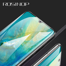 ROSINOP Scratch Proof Tempered Glass For huawei P30 pro Protective Film Screen Protector mate 20 9 10