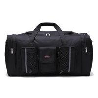 2019 tragbare zipper gepäck reisetaschen weiblichen oder männlichen extra super große größe kapazität 65*35*30cm nylon tote umhängetasche-in Reisetaschen aus Gepäck & Taschen bei