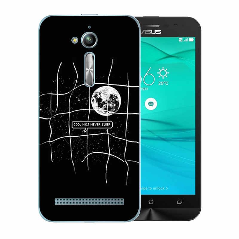 Чехол для Asus Zenfone Go ZB500KL из мягкого ТПУ с рисунком гримаса для Asus Zenfone Go ZB500KG 5,0 дюймов силиконовый чехол для телефона