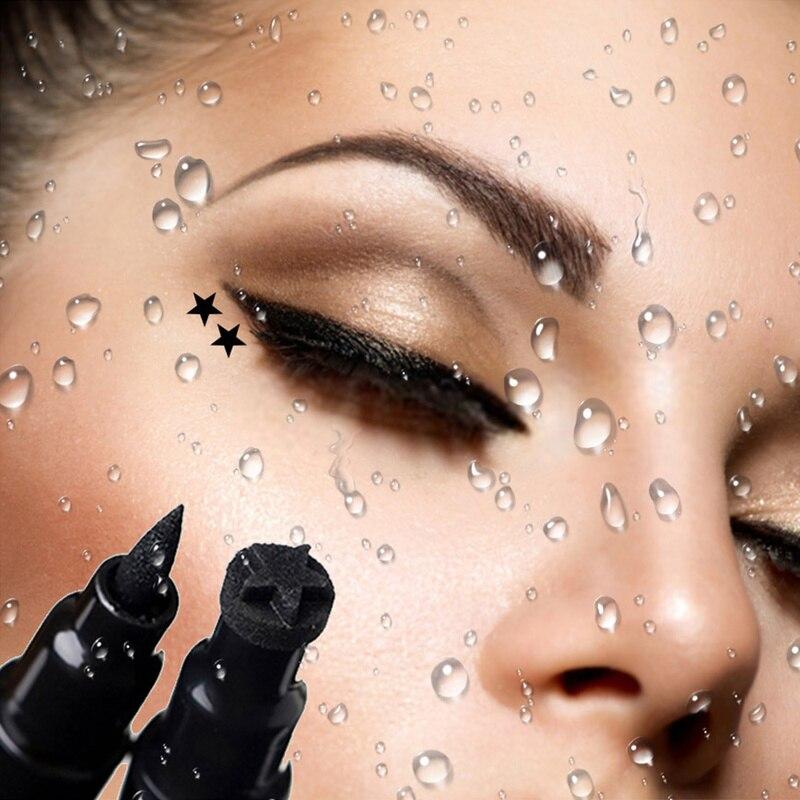 Beauty Essentials Eyeliner Eye Makeup Tool Double Head Waterproof Seals Long-lasting Eyeliner Black Pencil Eyeliner Profissional Completa Tslm1 Durable Service