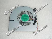 Nueva genuino para CLEVO W840 H840 AB07505HX070B00 00CWH840 460.02F03.0001 DC5V 0.50A 4Pin 4 Alambre de ventilador de refrigeración