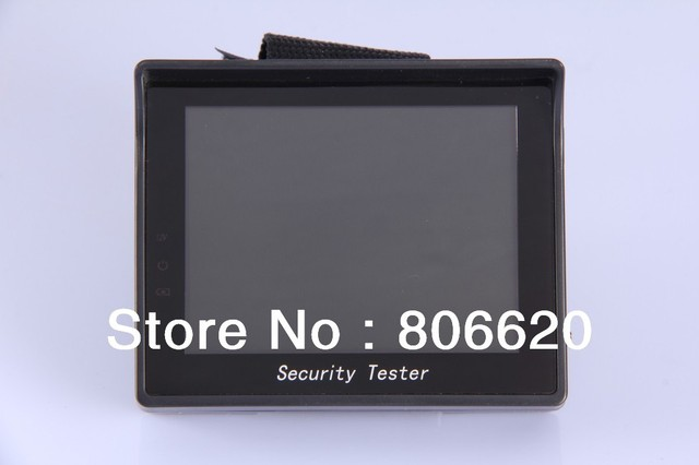 """3.5""""  Portable  LCD CCTV Test Monitor with Wrist holder- Free shipping worldwide"""
