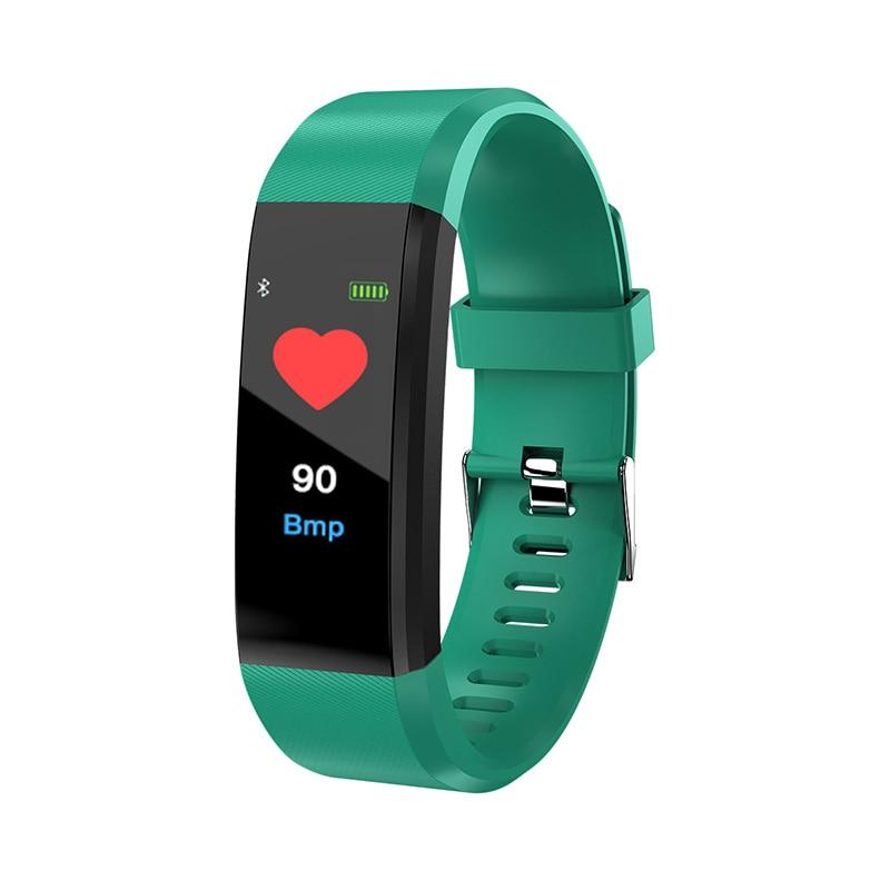 цена на Newest Bluetooth Smart Band Wristband IP67 Waterproof Sport Pedometer Fitness Bracelet Smartband for iOS Android band