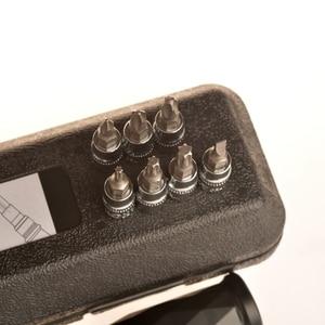 "Image 5 - Torque wrench 17 PCS  1/4""DR 1 25Nm  Bicycle bike tools kit set tool bike repair spanner hand tools"