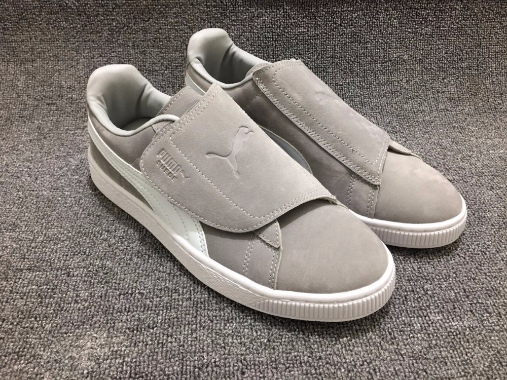 Original Puma Suede Strap Rihanna Platform Strap Satin EP two soft bottom increased light ultra Mens Sneakers size40-44