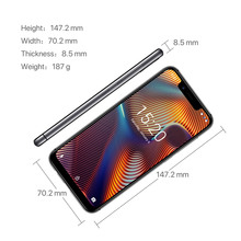 UMIDIGI A3 Pro Global Band 5.7″19:9 FullScreen smartphone 3GB+32GB Quad core Android 8.1 12MP+5MP Face Unlock Dual 4G Cell phone